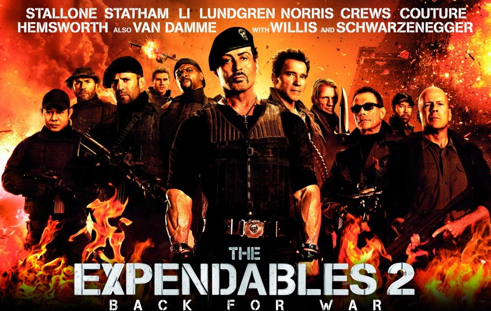 The Expendables 2review
