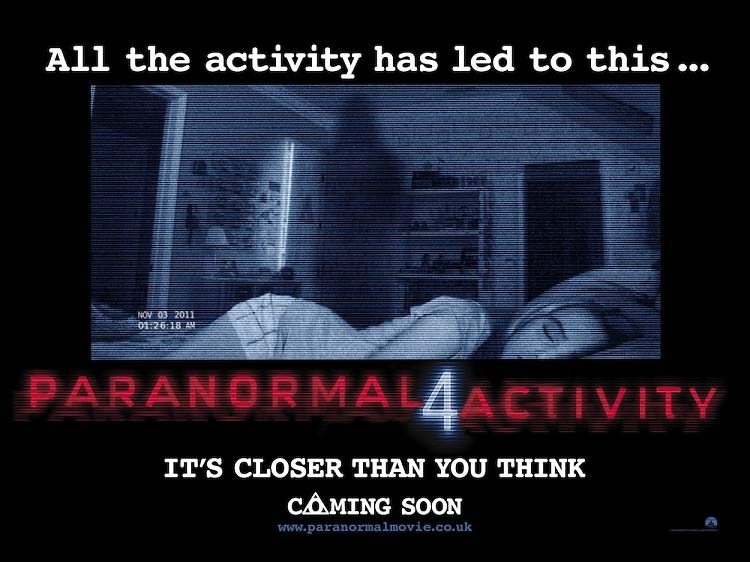 Paranormal Activity 4review