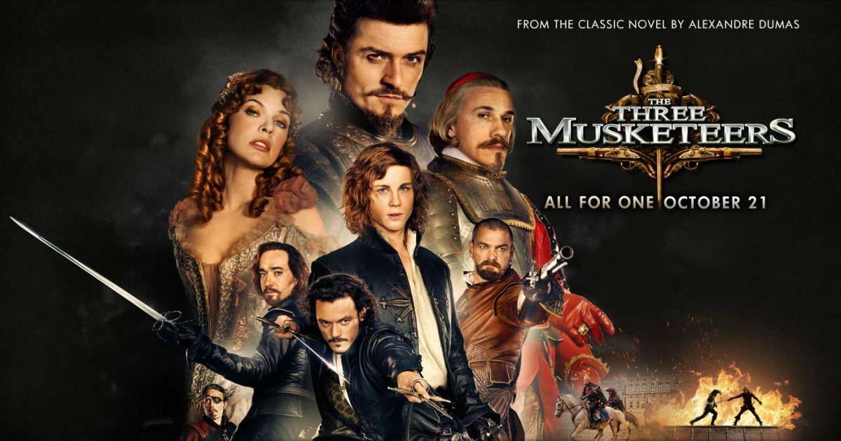 The Three Musketeersreview