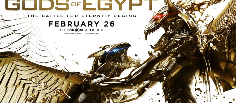 REVIEW: 'Gods Of Egypt' Is 2016's First Disaster At The Cinema
