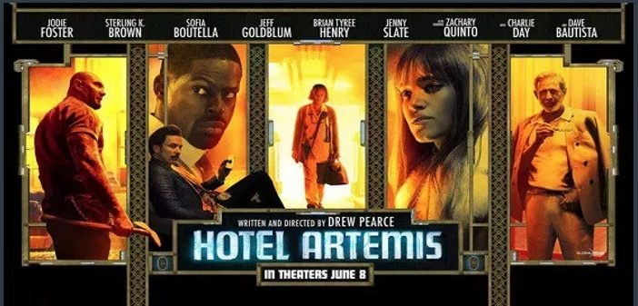 REVIEW: 'Hotel Artemis' has its moments, but is weighed down by the story