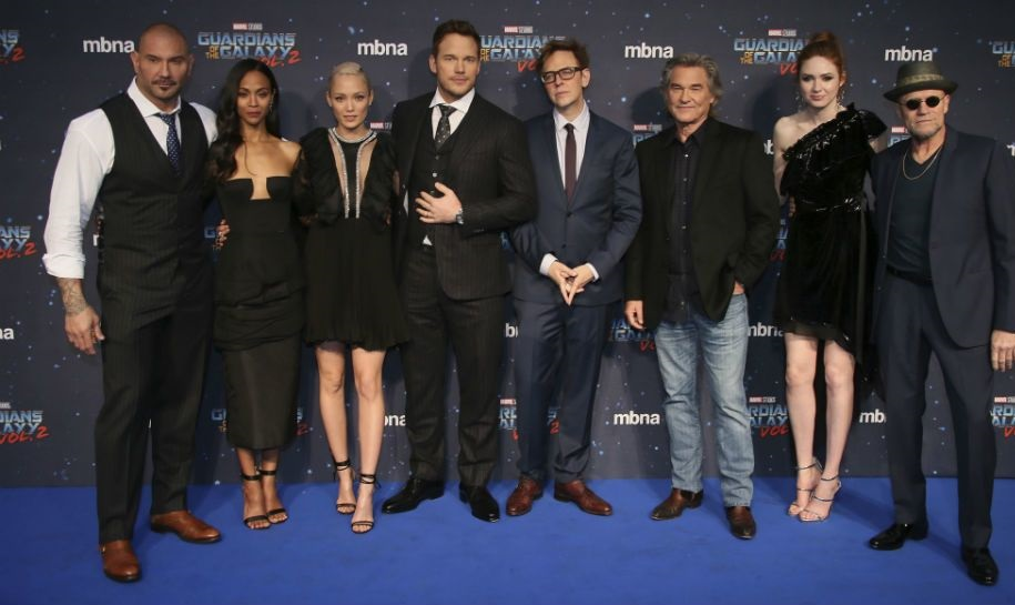 Monday Movie Report: 'Guardians of the Galaxy' cast backs Gunn