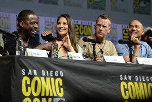 'The Predator' film panel, Comic-Con International, San Diego, USA - 19 Jul 2018