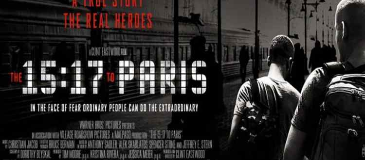 REVIEW: Inexperienced Acting, Weak Script Ruin '15:17 To Paris'