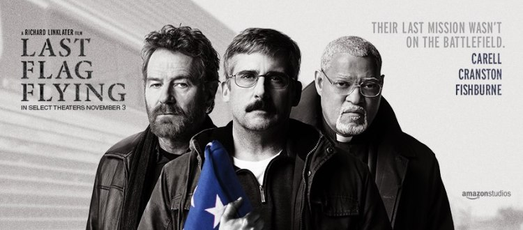 REVIEW: Talented Trio Of Actors, Solid Script Make 'Last Flag Flying' An Enjoyable Watch