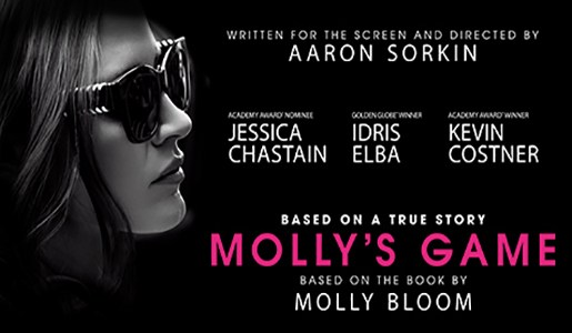 REVIEW: 'Molly's Game' Is Entertaining But Lacks Depth