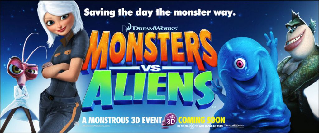 REVIEW: 'Monsters vsAliens'