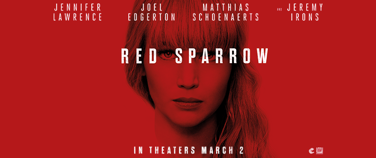 REVIEW: 'Red Sparrow' Is A Dreary, Unmemorable Cinema Experience