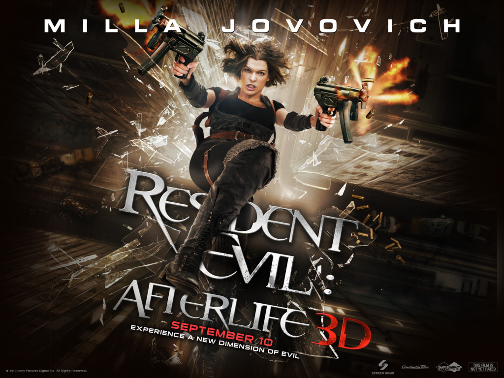 REVIEW: 'Resident Evil Afterlife'