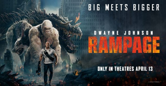 REVIEW: 'Rampage' As A Whole Isn't Saved By Monster Spectacle