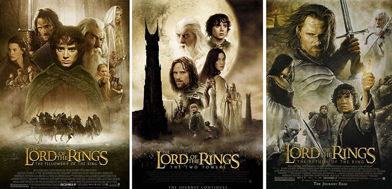 Top 10 Favorite Trilogies