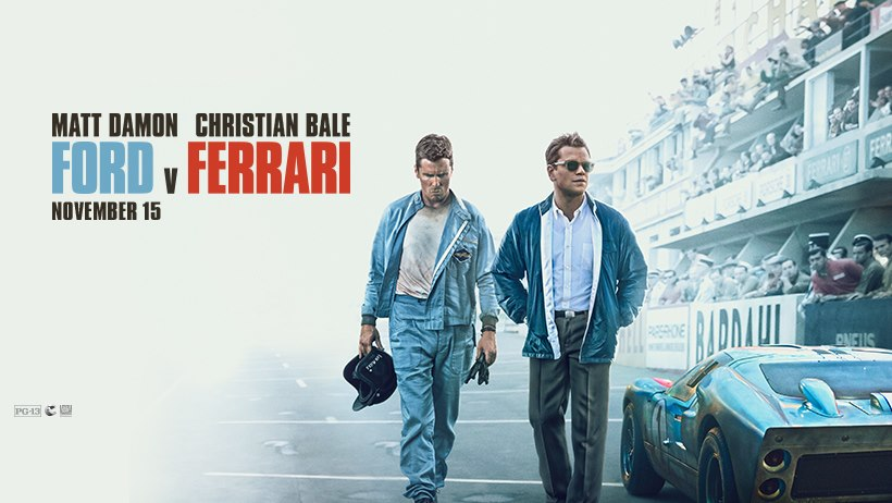 REVIEW: 'Ford v Ferrari' has fine tuned performances, but is alsoformulaic