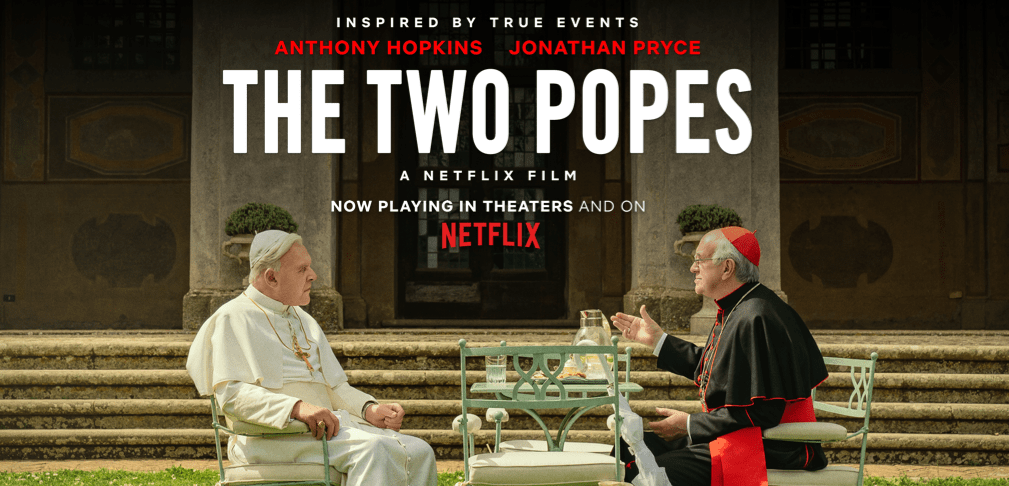 REVIEW: 'The Two Popes' has a pair of great performances, and not much else