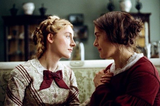 AMMONITESaoirse Ronan and Kate Winslet